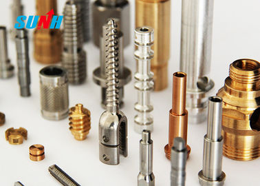 Aluminum Alloy / SS Machining Small Metal Parts With Chrome Plating Surface